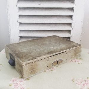 Charming vintage French cash drawer