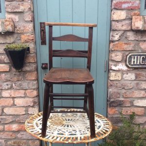 Wonderful old chapel chair