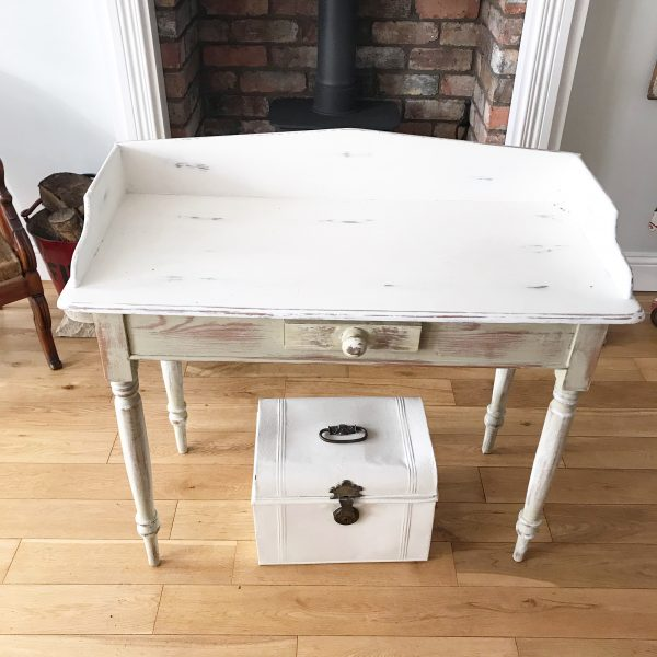 Lovely Victorian washstand painted and distressed
