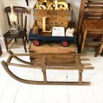 Wonderful old rustic German sleigh
