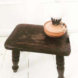 Adorable little vintage milking stool