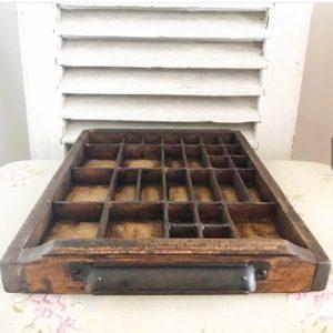 Wonderful vintage collectors drawer