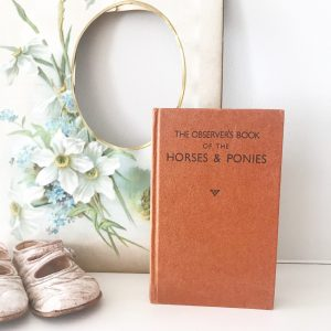 Beautiful little 'Horses & Ponies' observer book
