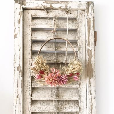 Lovely dried flower hanger (20cm)