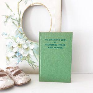 """The Observer's book of 'Flowering Trees & Shrubs"""""""