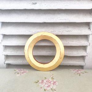 Lovely little reclaimed gold letter O (16cm)