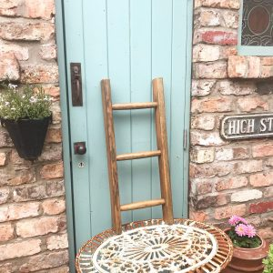 Lovely small vintage wooden ladder (75cm tall)