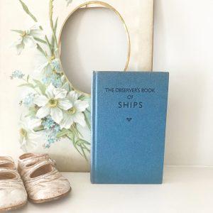 Lovely 'Ships' observer book