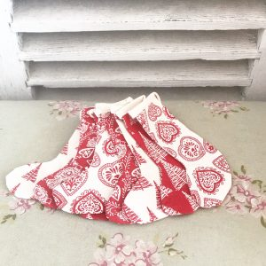 Lovely handmade Christmas stocking bunting
