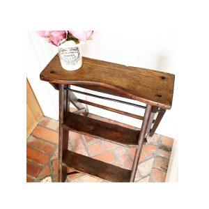 Beautiful vintage wooden stepladders