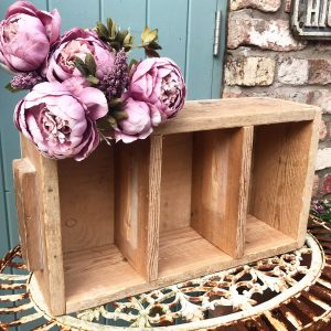Wonderful old rustic wooden storage drawers