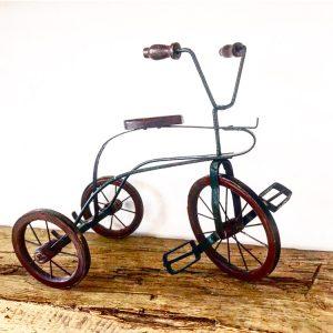 Fabulous vintage miniature tricycle