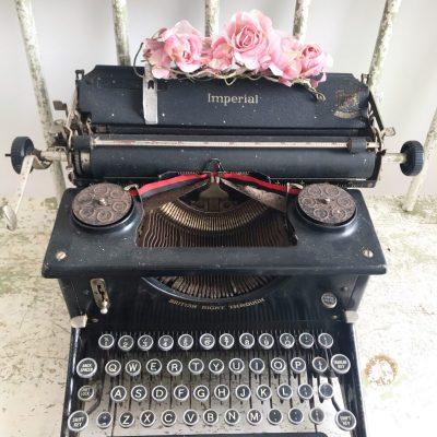 Beautiful old Imperial typewriter
