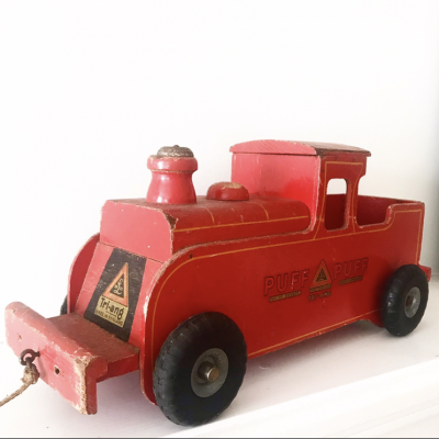 Beautiful vintage red Tr-iang Puff Puff train