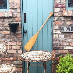 Beautiful vintage wooden paddle/oar